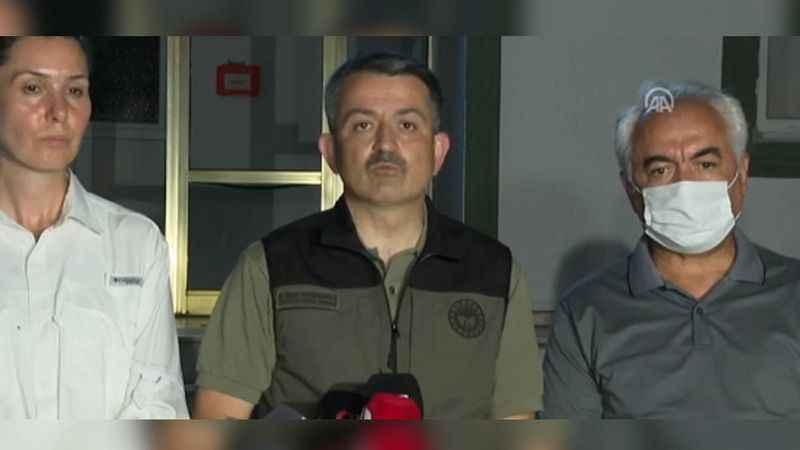 Bakan Pakdemirli, kontrol altına alınan yangın sayısını açıkladı