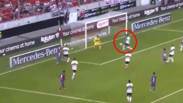Barcelona'da forma giyen Türk yıldız Yusuf Demir'den klas gol!