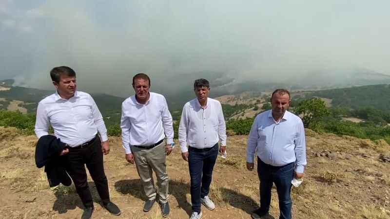 CHP'li vekiller Hozat'ta: Müdahale ekibinin arttırılması gerekiyor