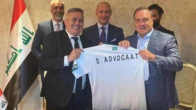 Dick Advocaat, Irak Milli Takımı'nın yeni hocası oldu