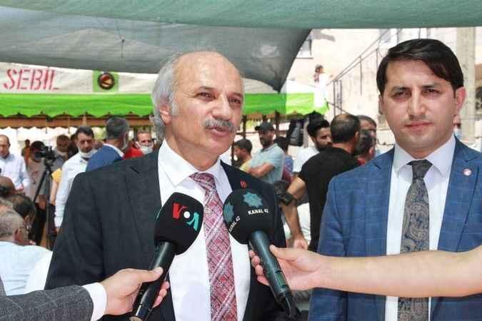 Saadet Partisi'nden Dedeoğlu ailesinin evine taziye ziyareti