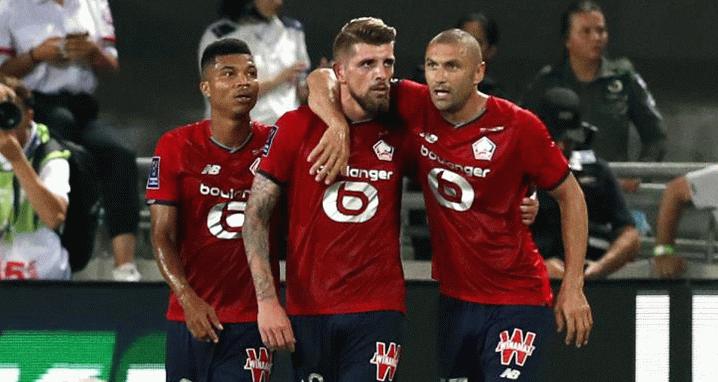 Lille, Fransa Süper Kupası'nı müzesine götürdü!