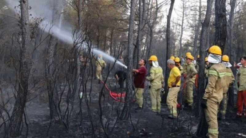 Bakan Bekir Pakdemirli açıkladı... İzmir yangını kontrol altına alındı