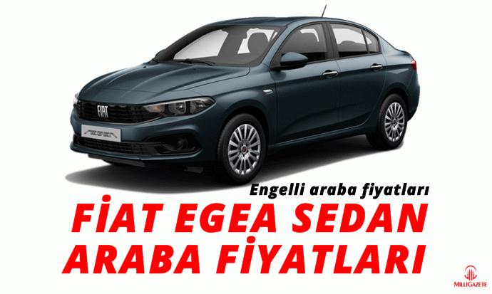 Araba fiyatları: Fiat egea sedan, panda, cross engelli araba fiyatları