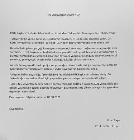 RTÜK'ten TV kanallarına 'yangın' ayarı: Yayınlayanlar cezalandırılacak