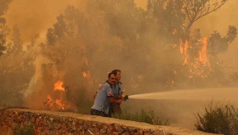 İşte il il kontrol altına alınan ve devam eden yangınlar