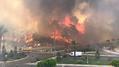 Orman yangını bölgesinde vatandaşlardan hükümete yakın kanala tepki