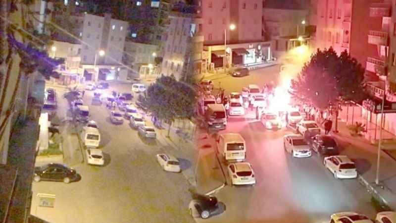 Düğün magandaları terör estirdi! Polis durmadan yola devam etti
