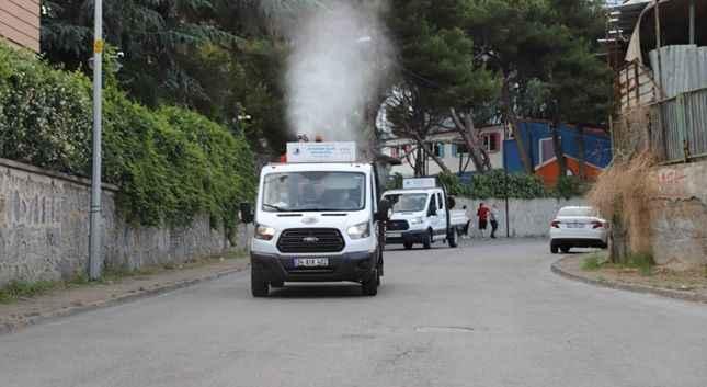 Kartal'da her gün 7 mahalle haşerelere karşı ilaçlanıyor