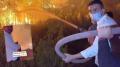 Ormanlarımız, ciğerlerimiz yanarken CZN Burak yangın tüpüyle şov yaptı