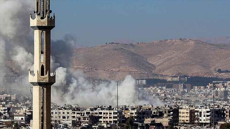 Siyonist İsrail'den Lübnan'a hava saldırısı