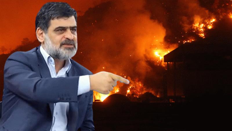 Karahasanoğlu'ndan görülmemiş yangın savunması! ABD bile söndüremiyor