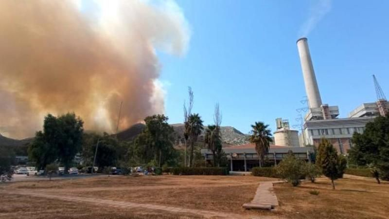 Sadece yangın değil büyük endüstriyel kaza
