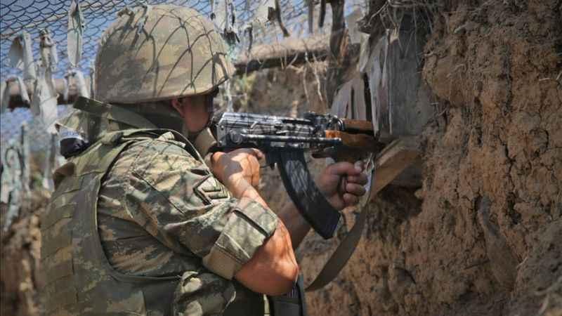 Yine ateşkesi ihlal etti! Ermenistan Azerbaycan mevzilerine ateş açtı