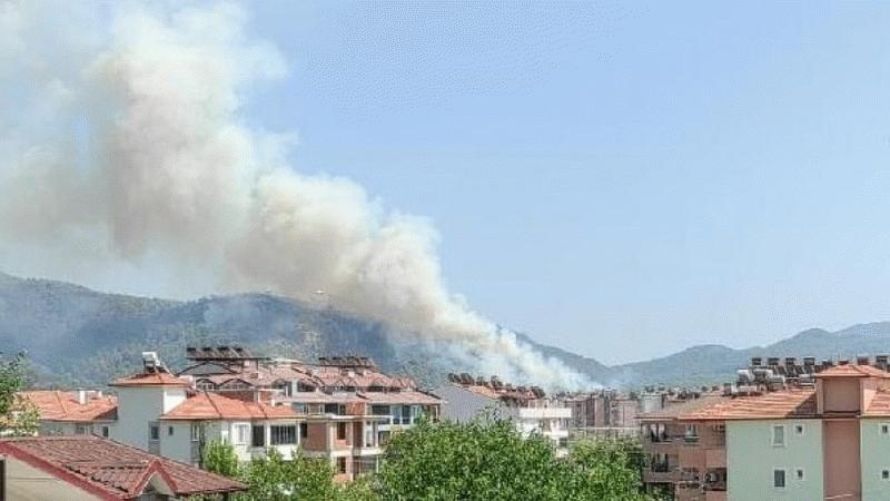 Muğla'daki orman yangını Dalaman Havalimanı'na kadar geldi