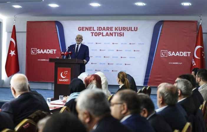 Saadet GİK, Karamollaoğlu başkanlığında toplandı