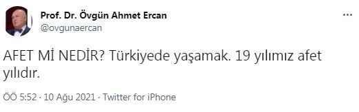 Ünlü deprem profesöründen Erdoğan'ı sinirlendirecek paylaşım
