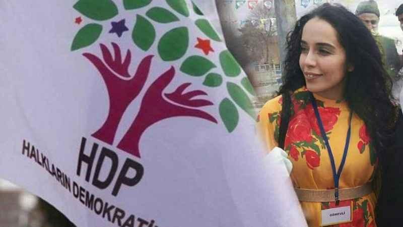 HDP İl Eş Başkanı Nergiz, gözaltına alındı