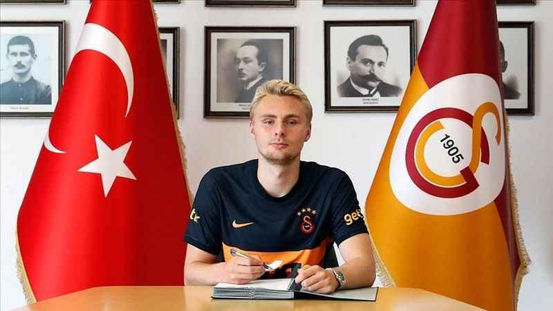Victor Nelsson resmen Galatasaray'da: İşte sözleşme detayları