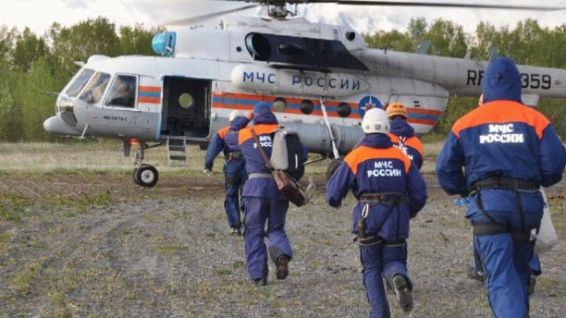 Rusya'da helikopter kazası! 8 kişi kayıp