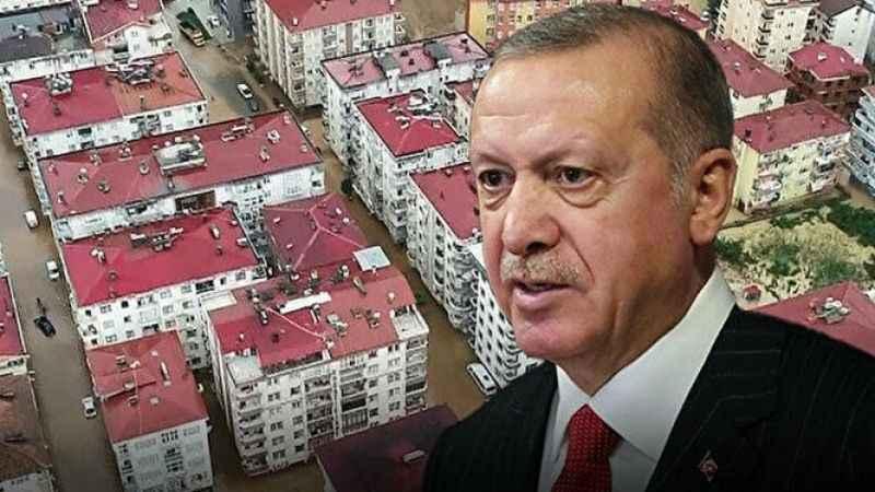 Cumhurbaşkanı Erdoğan selin vurduğu Kastamonu Bozkurt'a gidiyor