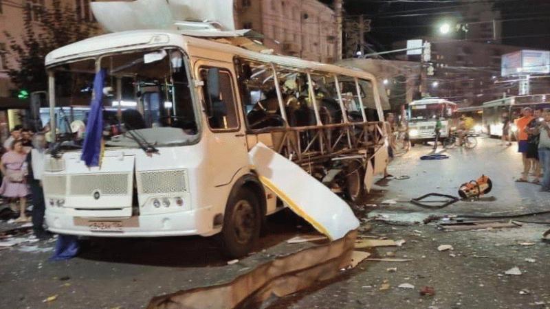 Rusya'da yolcu otobüsünde patlama