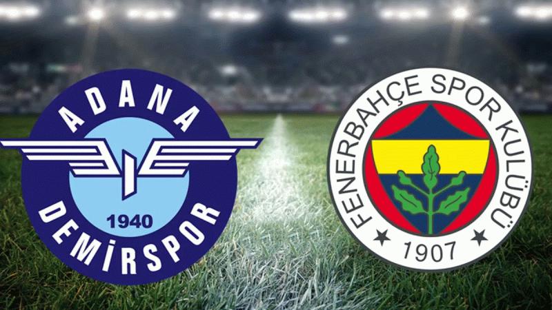 Adana Demirspor - Fenerbahçe maçı ne zaman? Saat kaçta? Hangi kanalda?