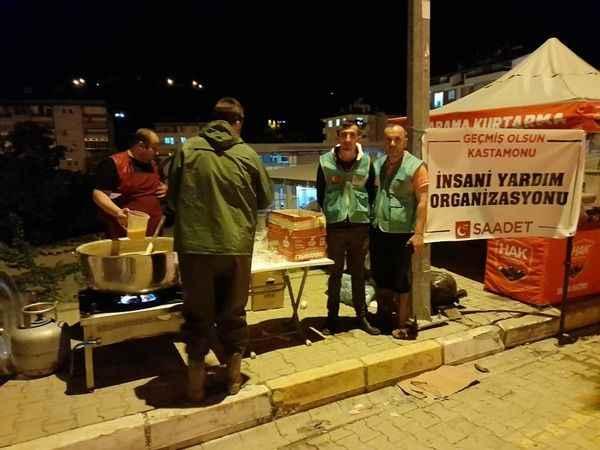 Saadet Partisi teşkilatları Bozkurt için seferber oldu