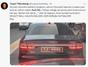 Rize Valisi'nin bindiği araba gündem oldu: 10 Lira gönderelim mi?
