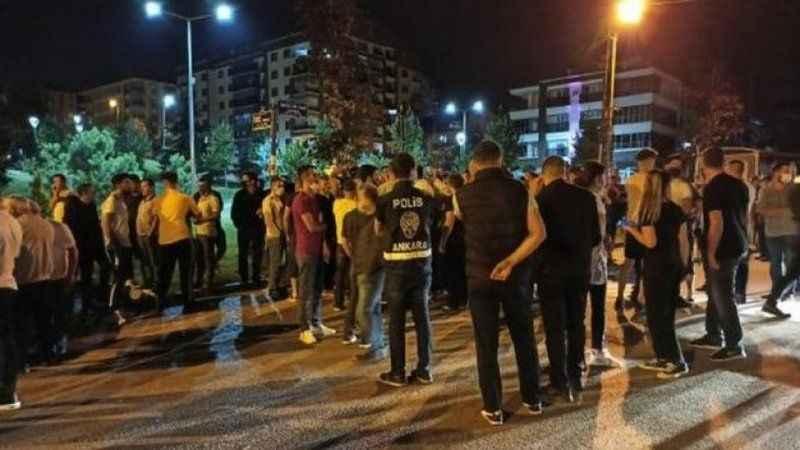 Dikkat çeken yazı: Altındağ olaylarının sorumlusu hangi parti?