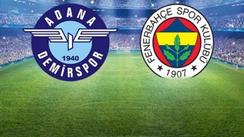 Fenerbahçe perdeyi Adana Demirspor maçıyla açıyor!