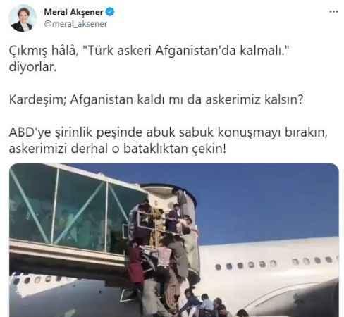 Akşener'den Bahçeli'ye sert yanıt: Abuk sabuk konuşmayı bırak