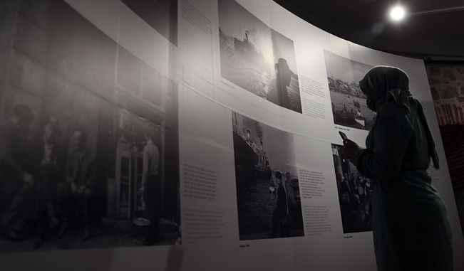 Ara Güler fotoğraf sergisi Galata Kulesi'nde açıldı