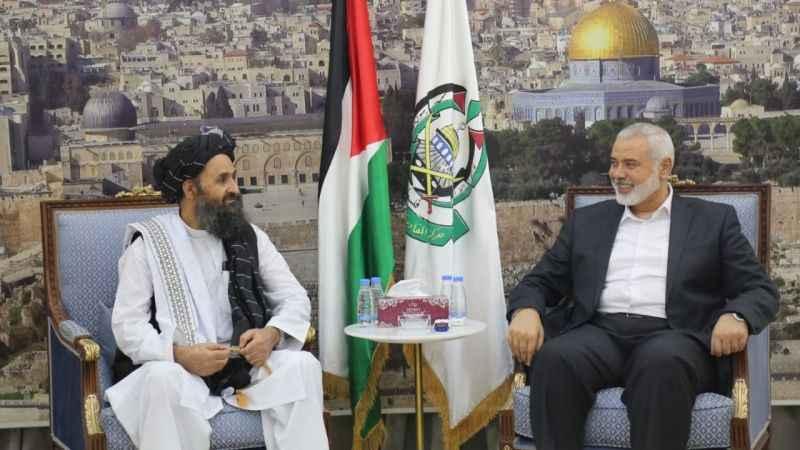 Hamas'tan Talban'a tebrik mesajı!