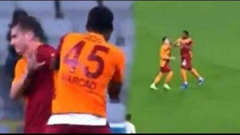 Galatasaraylı Marcao'nun saldırganlığı dünya basına düştü