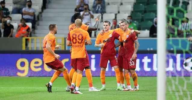 Galatasaray, GZT Giresunspor'u 2-0 mağlup etti