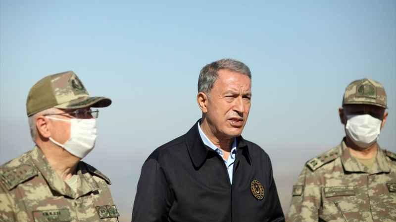 Hulusi Akar'dan Afganistan'daki Türk askerine ilişkin açıklama