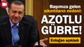 Erdoğan sel felaketinden vatandaşları sorumlu tuttu!