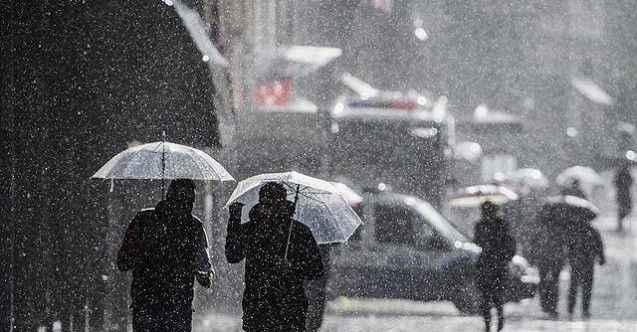 Meteoroloji'den kritik uyarı: Kuvvetli sağanak bekleniyor