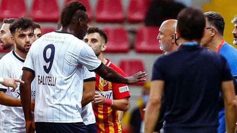 Adana Demirspor'dan Balotelli açıklaması