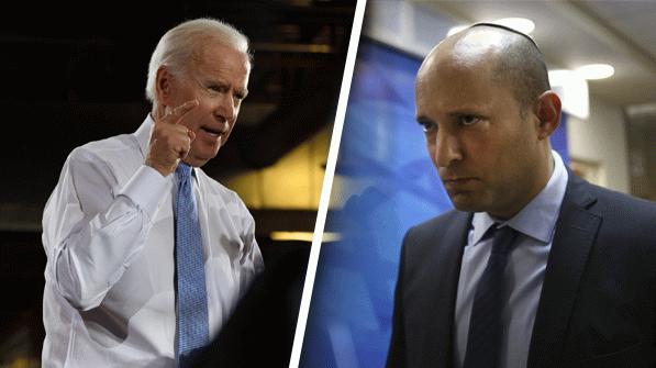 Siyonist Başbakan Bennett ABD yolunda! Masada İran var