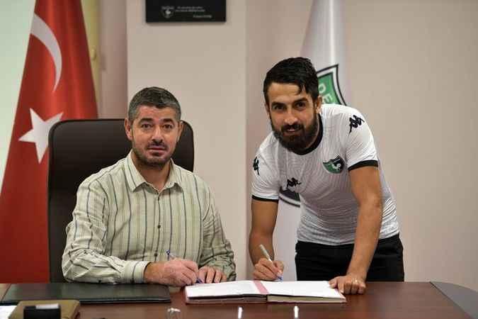 Muğdat Çelik, Denizlispor'a imzayı attı