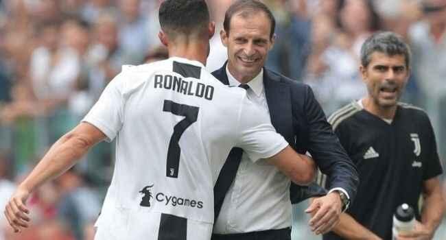 "Massimiliano Allegri : ""Ronaldo seçimini yaptı"""