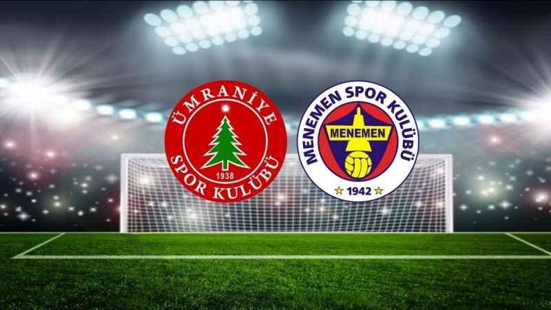Menemenspor Ümraniyespor maçı hangi kanalda, saat kaçta?