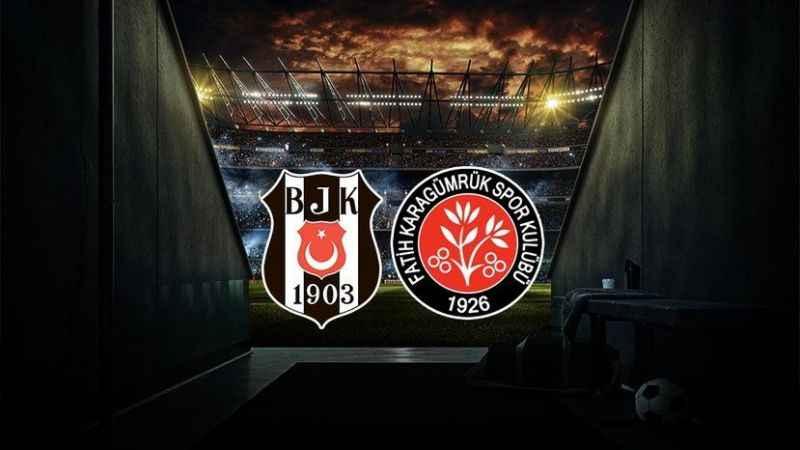 Beşiktaş - Karagümrük maçı hangi kanalda, ne zaman, saat kaçta?