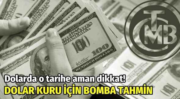 Dolarda o tarihe dikkat! Dolar kuru için iki ekonomistten bomba tahmin