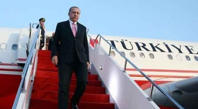 Erdoğan'ın uçağında sürpriz isim!