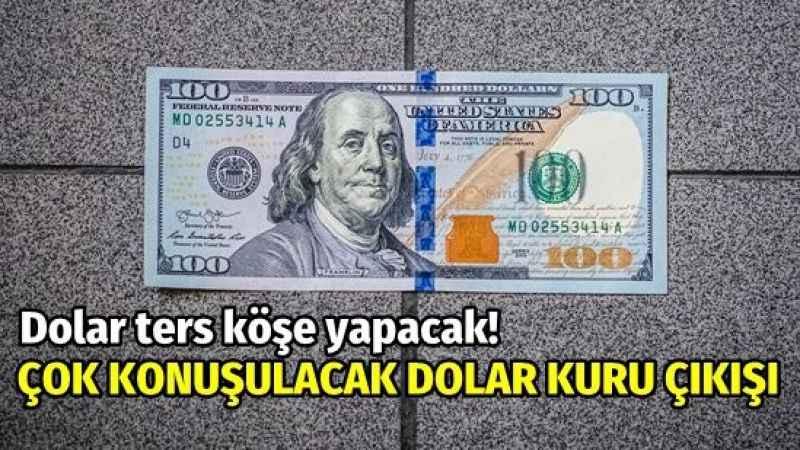 Dikkat! Dolar ters köşe yapmasın! Selçuk Geçer'den dolar kuru çıkışı