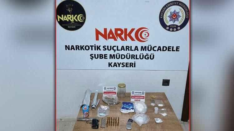 Kayseri'de uyuşturucu operasyonu: Çok sayıda gözaltı var