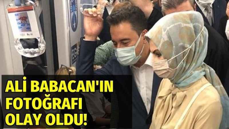 Ali Babacan'ın Ankara metrosu fotoğrafı Ekşi Sözlük'te olay oldu